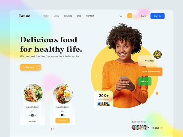 Food Processing Website Designing Company