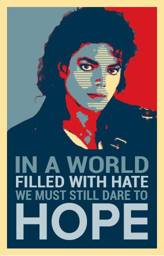 Editing  photoshop Michael Jackson MJ poster