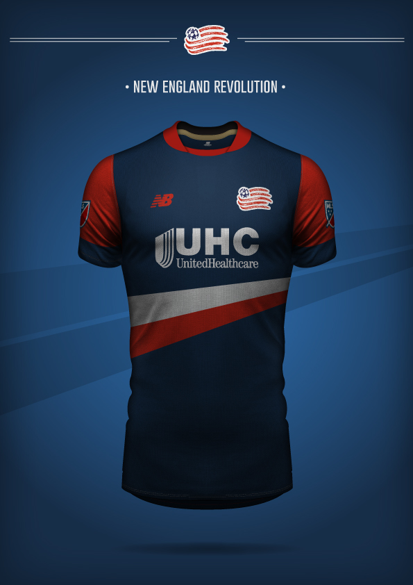 New Balance New England Revolution Concept Kit