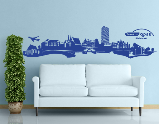 Town Silhouette Wall Decals On Behance