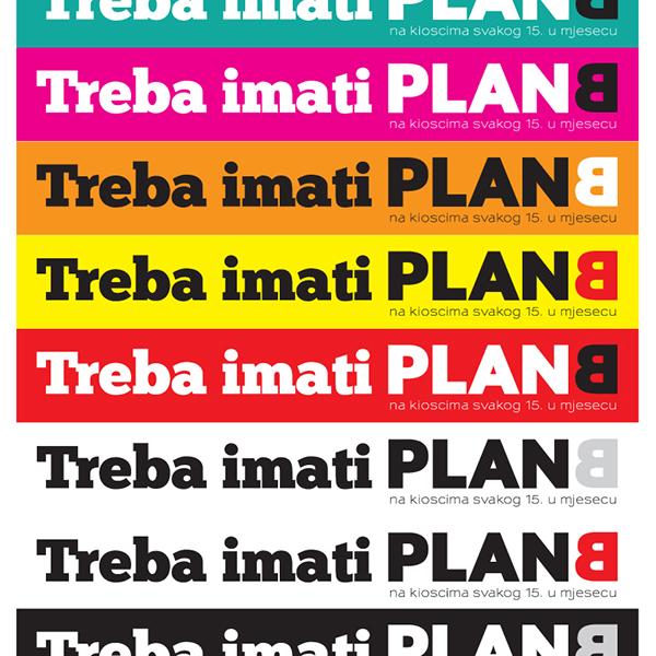 PLANB Magazine Guerrilla marketing