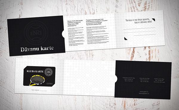 ENRI tennis club on Pantone Canvas Gallery – Club Card Design