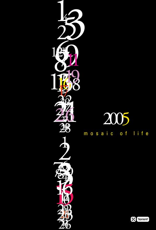 Mosaic Of Life Calendar On Behance