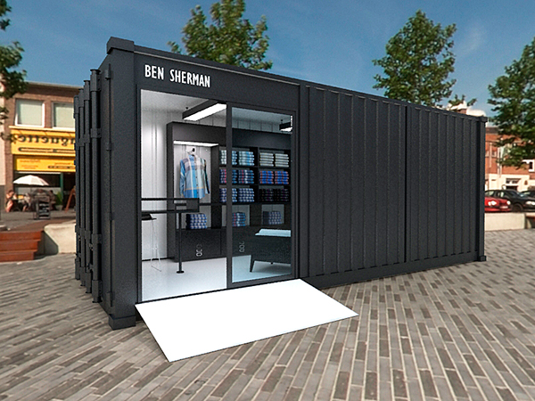 ben sherman container store on behance. Black Bedroom Furniture Sets. Home Design Ideas
