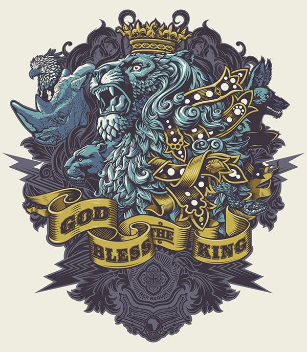 The King by Rubens Scarelli