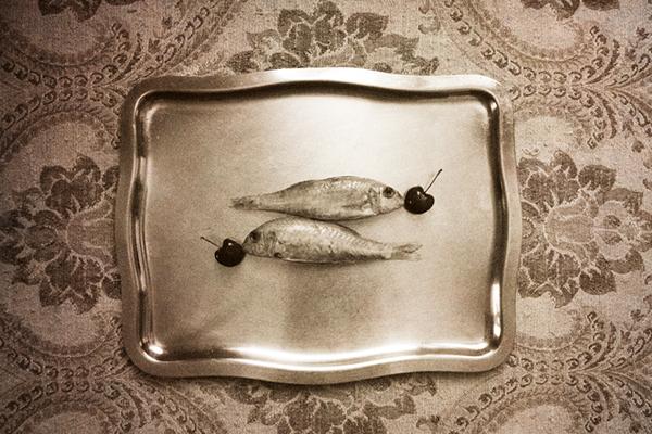 fish cherry vintage pictures