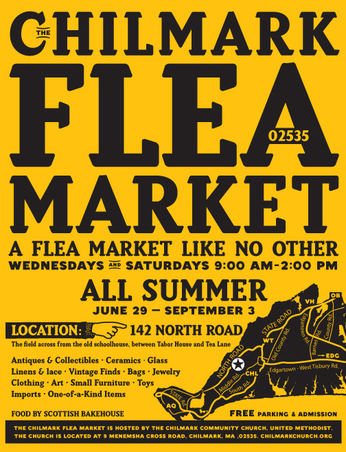 Chilmark Flea Market On Behance