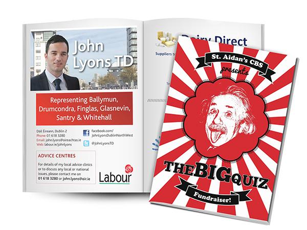 poster Booklet Quiz einstein