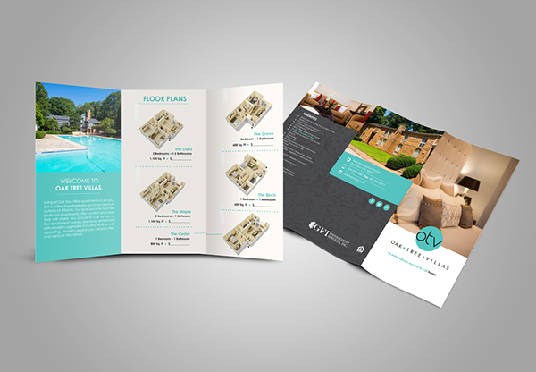 Luxury Apartment Brochure On AIGA Member Gallery Classy Apartment Brochure Design