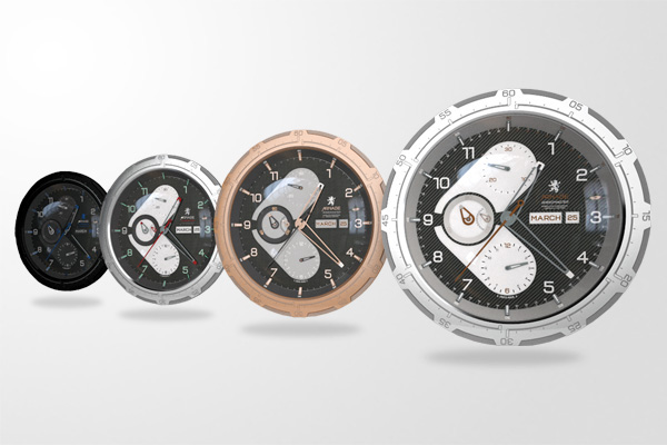 arnage Watches product 3D 3D Rendering concept design