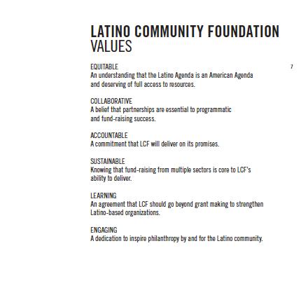 inspiring the latino community essay