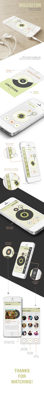 #UI #UX #interactiondesign #apps #app #IX #userinterface #music IxD