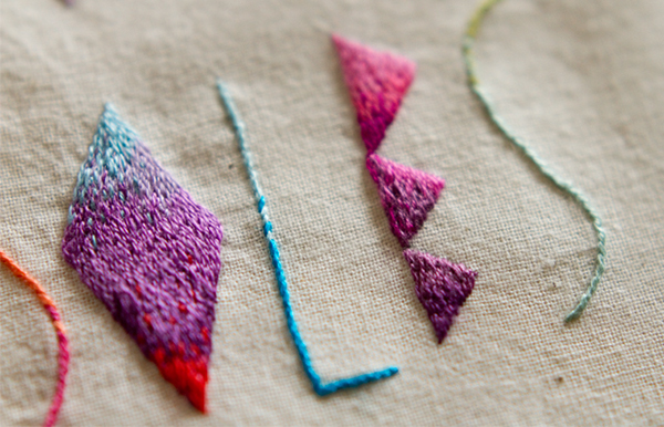 lettering Embroidery needle and thread Patterns Lyrics