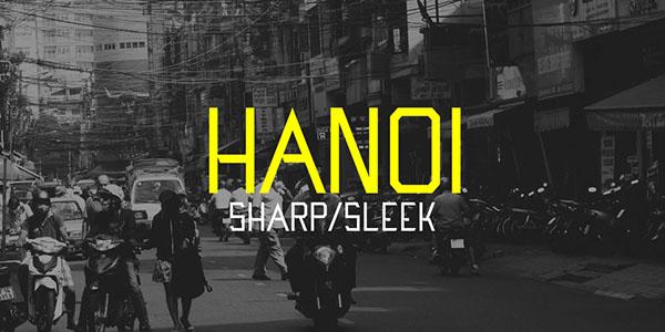 Hanoi Typeface Font Download