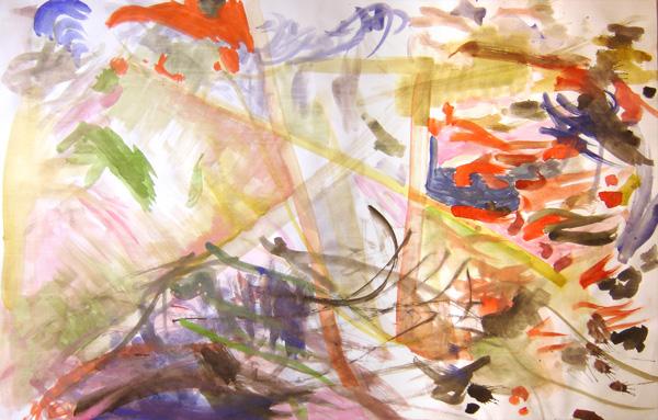 paint bright child art Fun experimental Exhibition