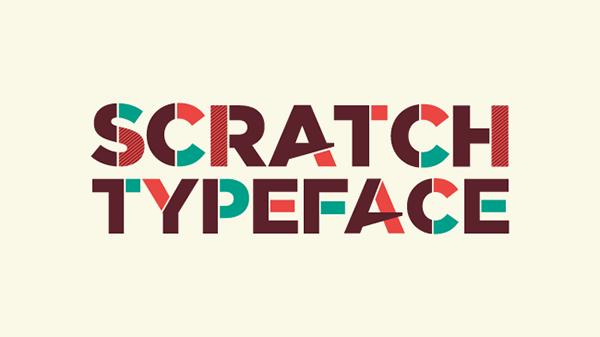 Scratch Typeface Font Download