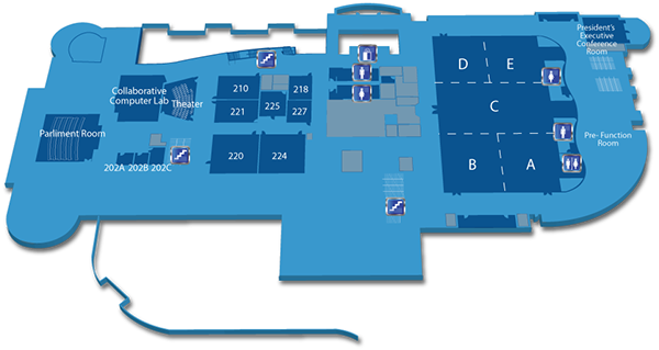 Maryland live casino floor map