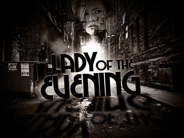 Lady Evening photoshop