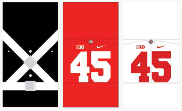 Ohio State iPhone 6 Lock Screen Wallpapers on Behance