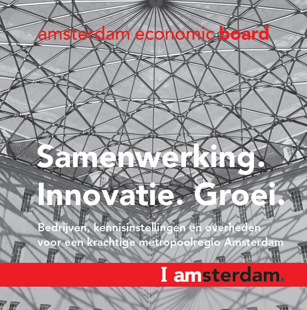Flyer amsterdam economic board on pantone canvas gallery for Amsterdam economica