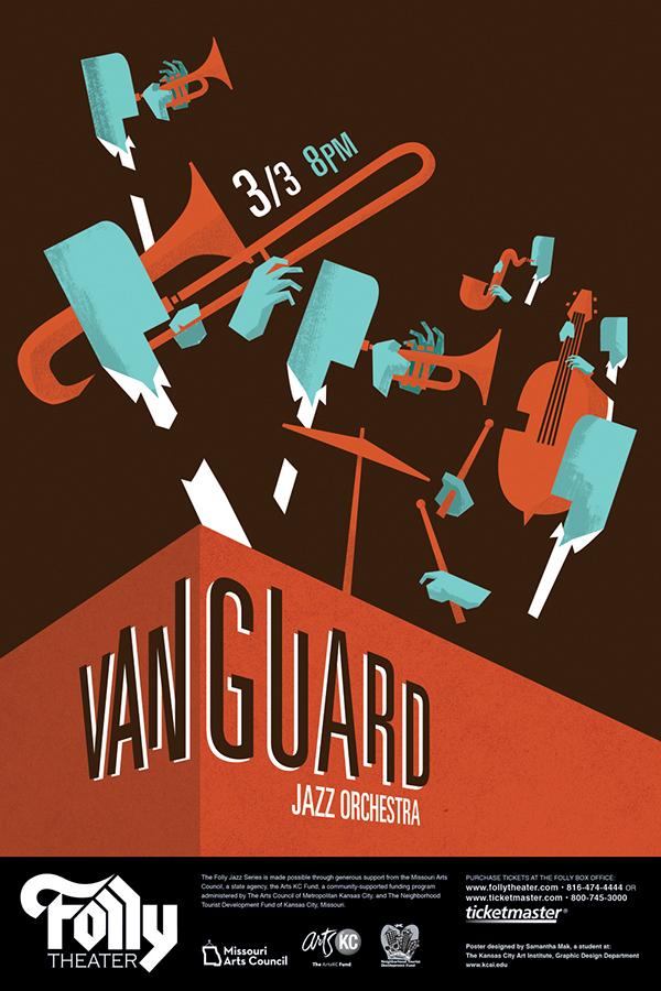 The Vanguard Jazz Orchestra on Behance