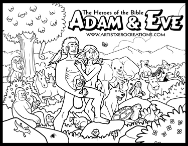 the heroes of the bible coloring pages on behance - Coloring Pages Bible