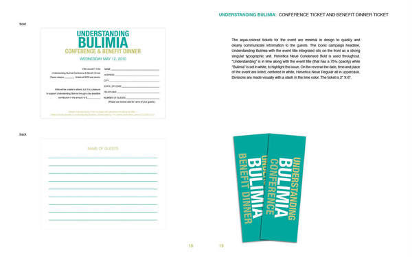 understanding bulimia The disorder of focus, bulimia nervosa, is usually characterized by repeat cycles of binge eating (consumption of large quantities of energy-dense foods) followed soon after by purging of the stomach contents (vomiting) before the majority of nutrients can be absorbed.