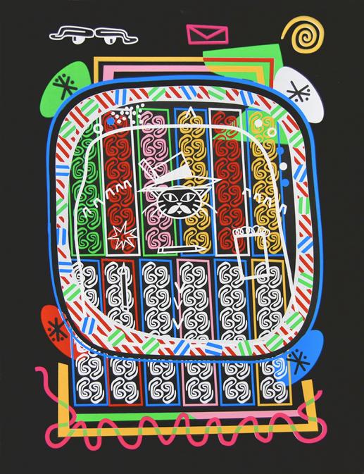 printmaking Menchaca texas mexico Immigration