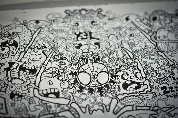Doodle Art Amazing Spider Man On Behance