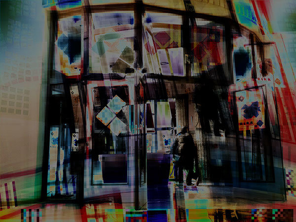 processing iphone Glitch Webdesign videography videoprojection