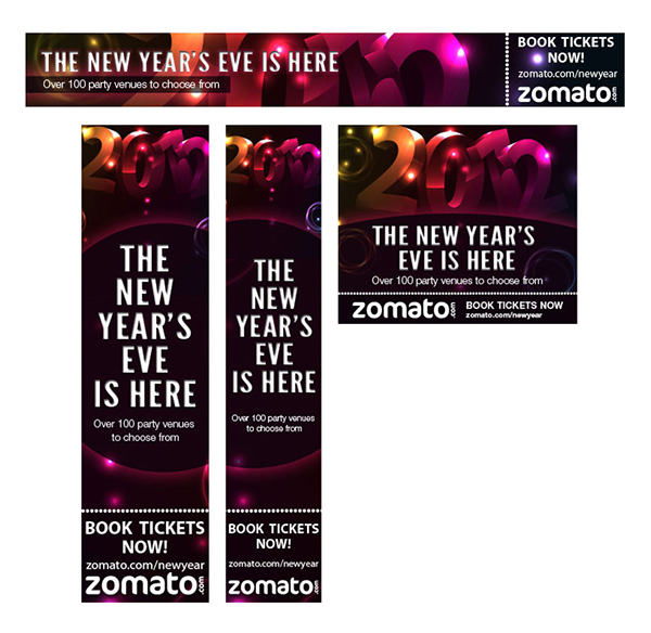 Marketing campaigns for Zomato on Behance