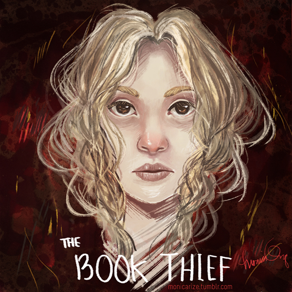 liesel meminger from the book thief on behance