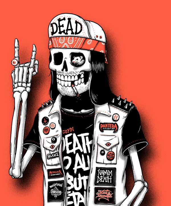 Скелеты крутые
