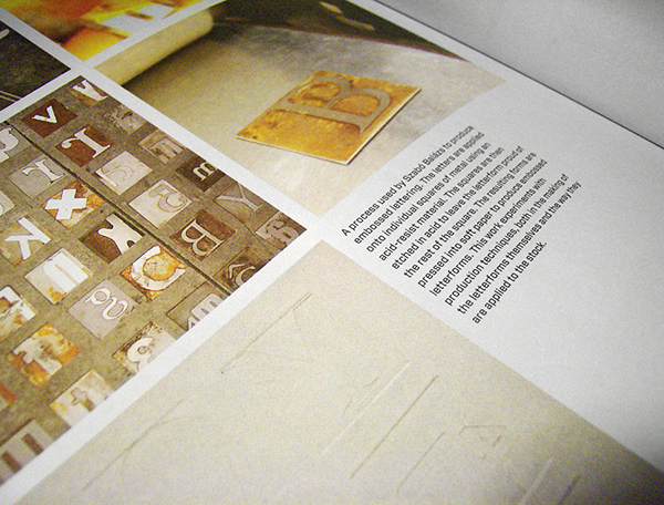book featured type form and content letters licence Work  print aquatint