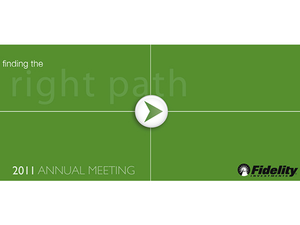 powerpoint design - fidelity investments annual meeting on behance, Presentation templates