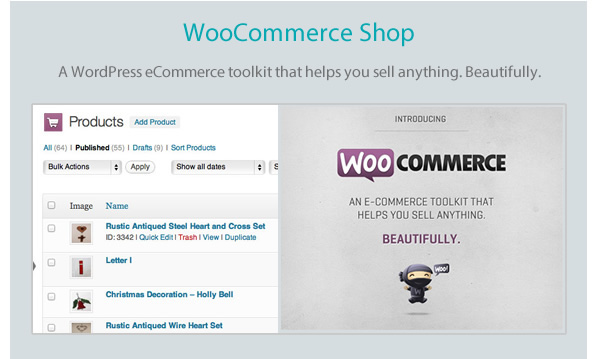 New-commerce wordpress Woocommerce php F5Themes html5 css