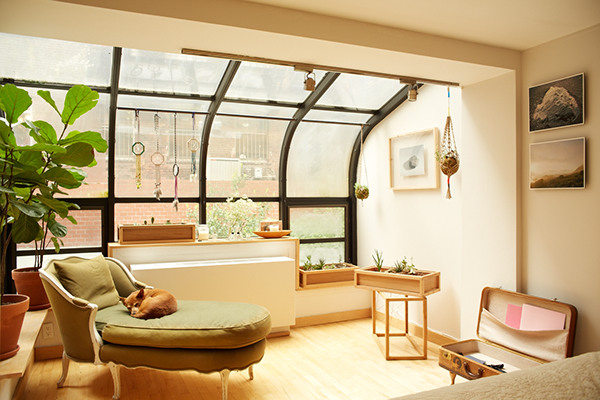 home made nyc - live-in showroom on behance