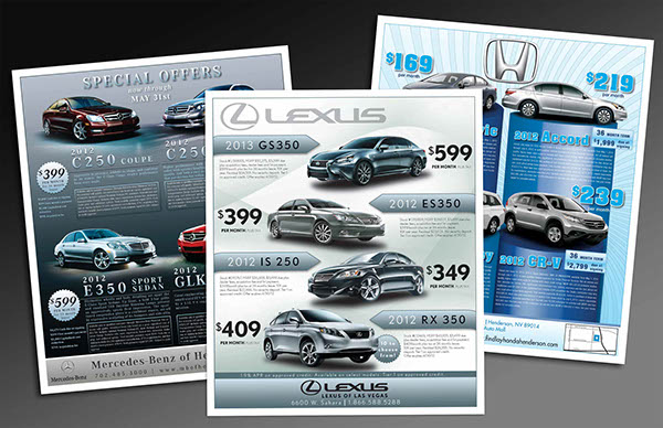 Jeep Dealership Las Vegas >> Autos Illustrated Magazine, Car Dealership Ads on Behance