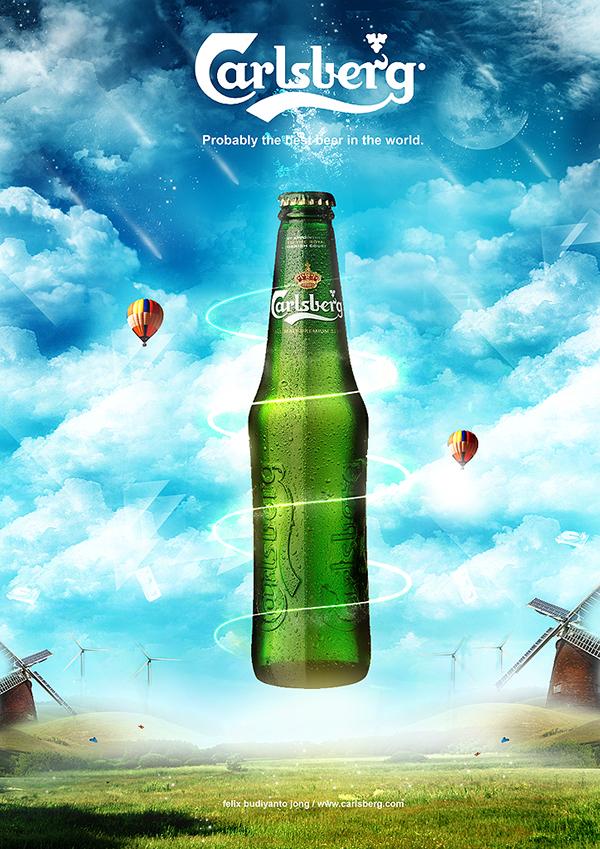 Carslberg experimental ads on behance - Carlsberg beer wallpaper ...