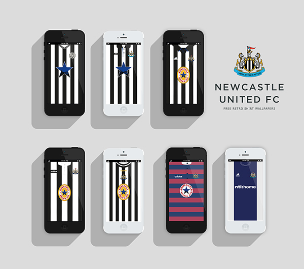 Nufc Retro Shirt Wallpapers On Behance