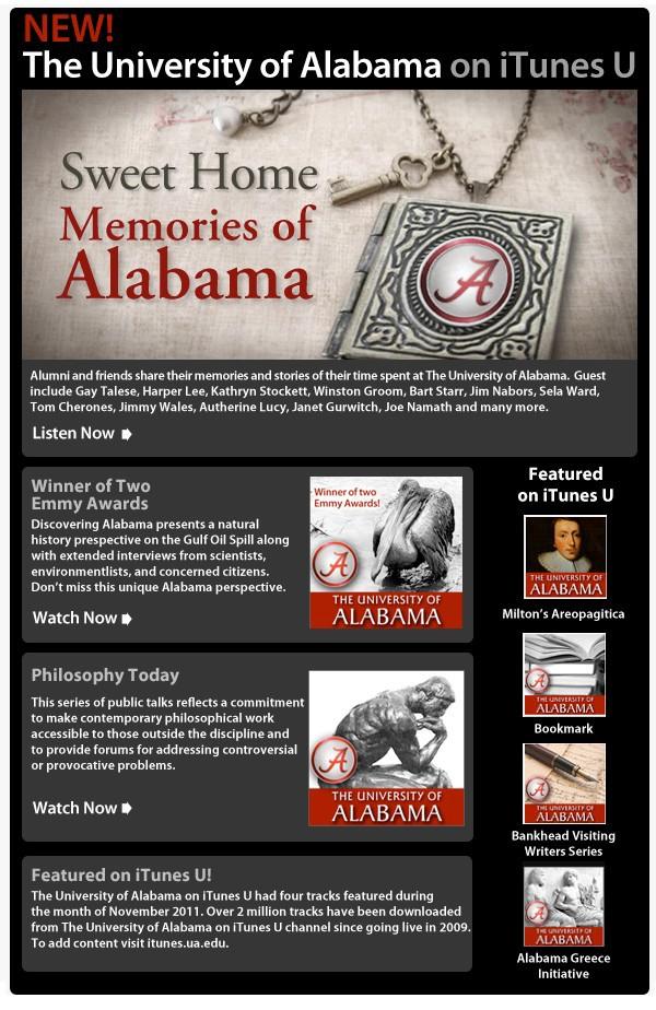 book covers digital display iTunes U Email campaign