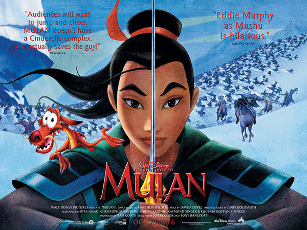 Image result for mulan poster