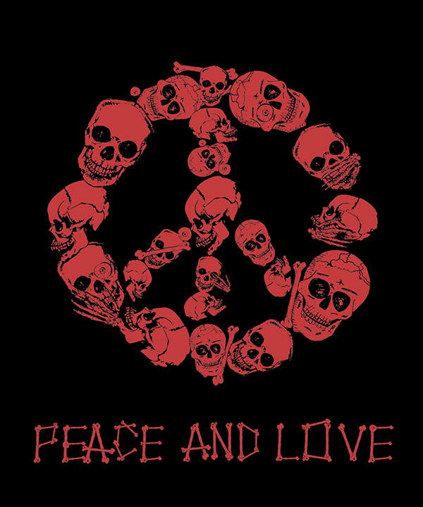 tiger  Grunge  style illustration calibri bird design peace and love skulls creative illustration