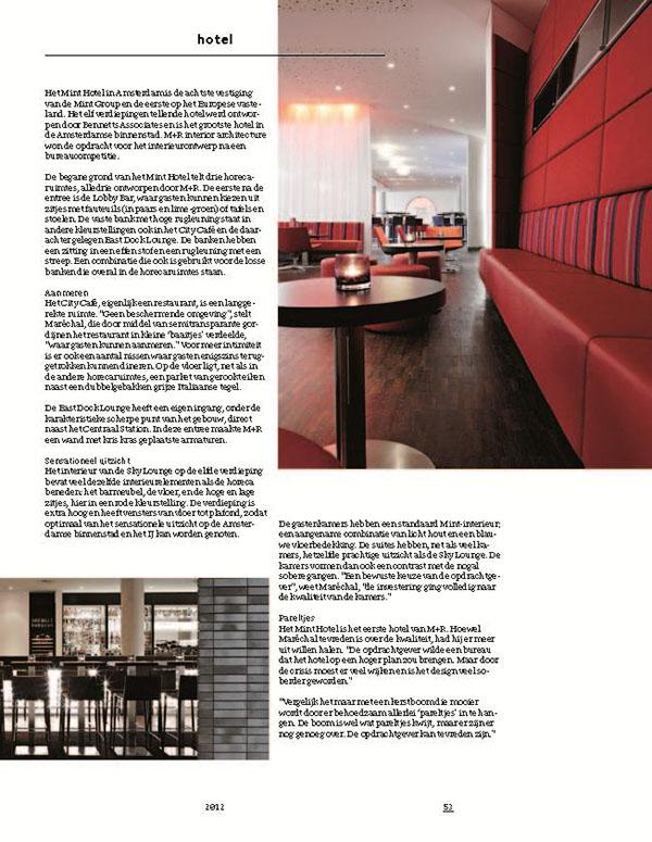 Lounge Stoel Gebruikt.2011 Mint Hotel Amsterdam On Behance
