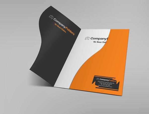 free psd  corporate folder mockup template on behance