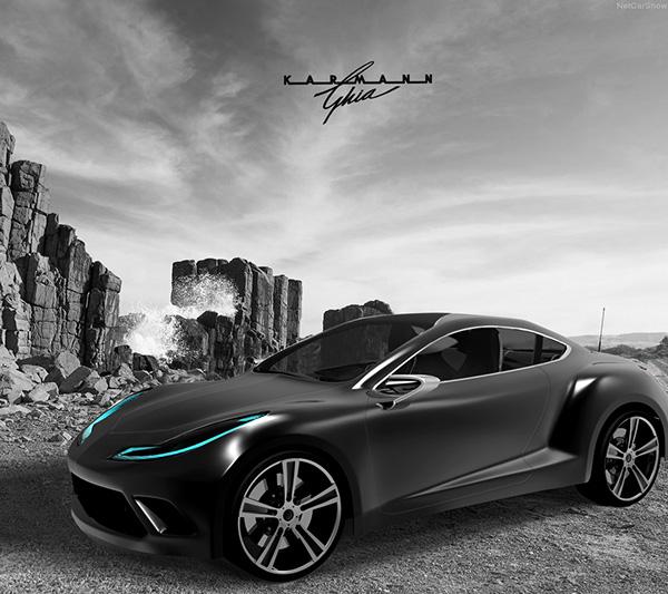 Karmann-Ghia Concept On Behance