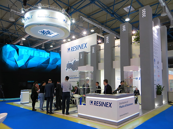Exhibition Stand Behance : Exhibition stand resinex on behance