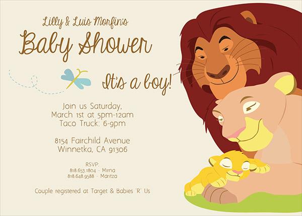 Baby Shower Invitations Lion Theme was perfect invitation ideas