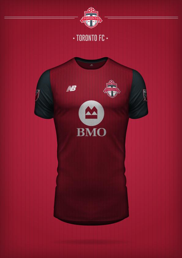New Balance Toronto FC Concept Kit