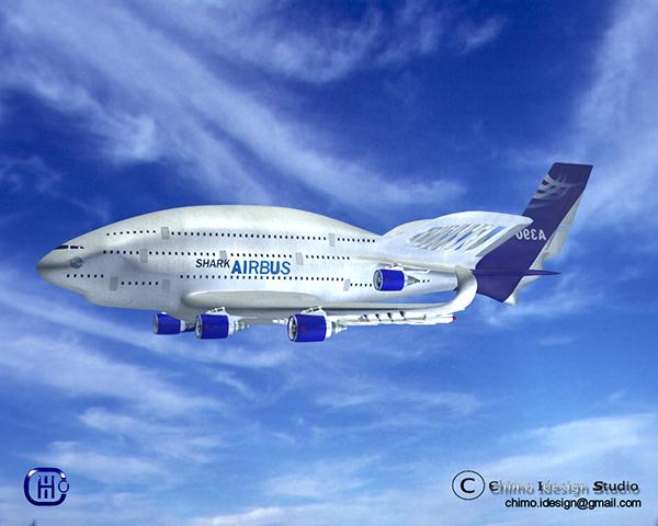 AIRBUS A390 SHARK On Behance